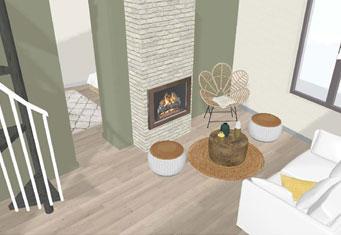 Projet décoration intérieur Salon