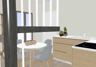 Projet décoration intérieur séjour
